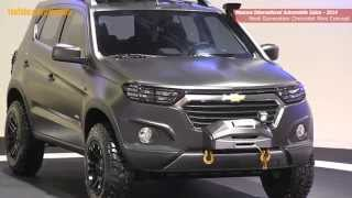 getlinkyoutube.com-Первое видео концепт Шевроле Нива Next Generation Chevrolet Niva at the MIAS 2014 (English version)