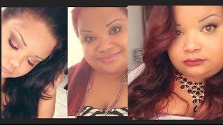 getlinkyoutube.com-♡ De Negro a Rojo, sin maltratar tu cabello♡