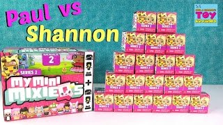 getlinkyoutube.com-Paul Vs Shannon My Mini Mixie Qs Series 2 Edition Opening | PSToyReviews