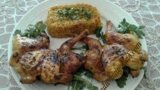 getlinkyoutube.com-كوكلي مشوي بتثبيلة راااائعة مع ارز في دقائق كوجبة عشاء او غداء سريعة
