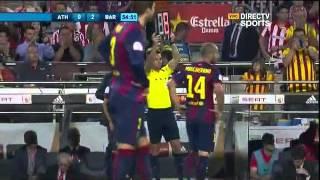 getlinkyoutube.com-Barcelona 3 - 1 Atletic de Bilbao Copa del Rey - Directv sports