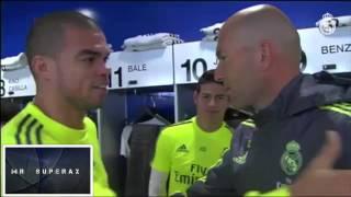 getlinkyoutube.com-Zidane first training session with REAL MADRID !!!