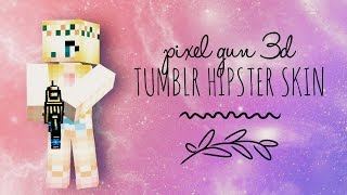 getlinkyoutube.com-Pixel Gun 3D | Tumblr Hipster Skin 💖