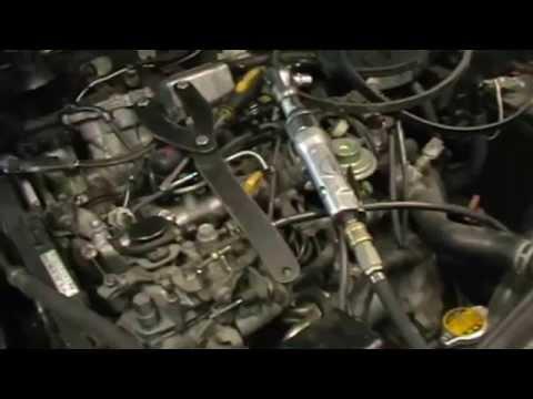 Toyota Caldina невнимательность при установки грм