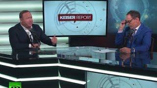 Keiser Report: Fake News (E1005, ft. Alex Jones from Infowars)