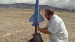 getlinkyoutube.com-Model Rocket Launch part  3