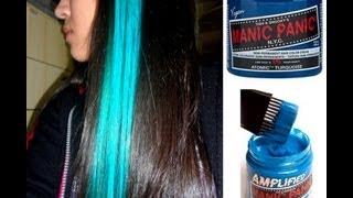 getlinkyoutube.com-Pintando o cabelo com a Tinta Manic Panic