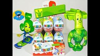getlinkyoutube.com-Unboxing Kinder Surprise  Киндер Сюрпризы Фиксики Fixiki Новая серия 2016 Года! New 2016