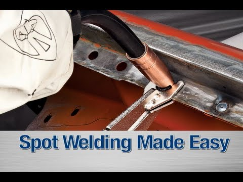 Spot Weld Kit - How To DIY with your MIG Welder from Eastwood