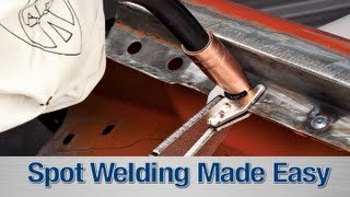 getlinkyoutube.com-Spot Weld Kit - How To DIY with your MIG Welder from Eastwood