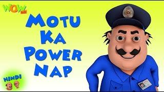 Motu Ka Power Nap - Motu Patlu in Hindi WITH ENGLISH, SPANISH & FRENCH SUBTITLES