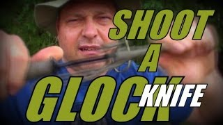 getlinkyoutube.com-Glock Knife - Will It Stop a Bullet?