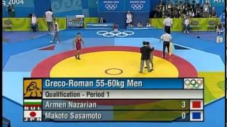 getlinkyoutube.com-Sasamoto,  makoto (JPN) vs Armen,  Nazarian (BUL)