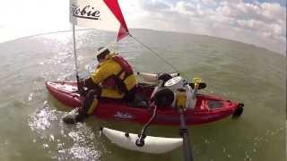 getlinkyoutube.com-Rigging the Hobie Outback for sailing