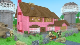 getlinkyoutube.com-Minecraft: CASA MAIS SEGURA DO MINECRAFT!
