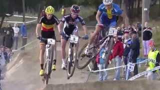 getlinkyoutube.com-Fabrice Mels @ XCE UCI World Cup MTB (12/09/13, Hafjell, NO)