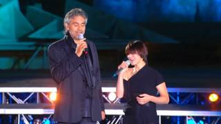 getlinkyoutube.com-Andrea Bocelli (Feat  Elisa) - La Voce Del Silenzio HD