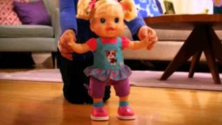 getlinkyoutube.com-Baby Alive Baby Wanna Walk - New Arrival at Poppies!