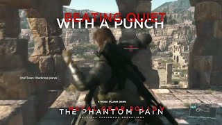 getlinkyoutube.com-MGSV: TPP - Beating Quiet With Just A Punch