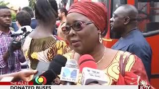 Donated Buses - The Pulse on JoyNews (16-5-18)