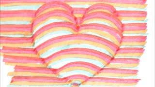 getlinkyoutube.com-[だれでも描ける!] 簡単に描ける3Dのハートの絵の描き方 [3Dアート]  How to draw 3D art