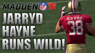 getlinkyoutube.com-JARRYD HAYNE GOES OFF! - Madden 16 Draft Champions Gameplay