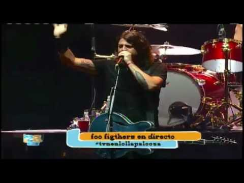 Foo Fighters Lollapalooza Chile 2012 Full Concert (Show Completo)