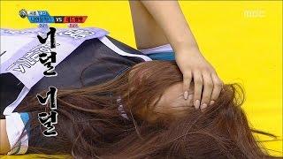 getlinkyoutube.com-[Idol Star Athletics Championship] 아이돌스타 선수권대회 1부 - 'EXID VS Nine Muses' Korean wrestling 20150928