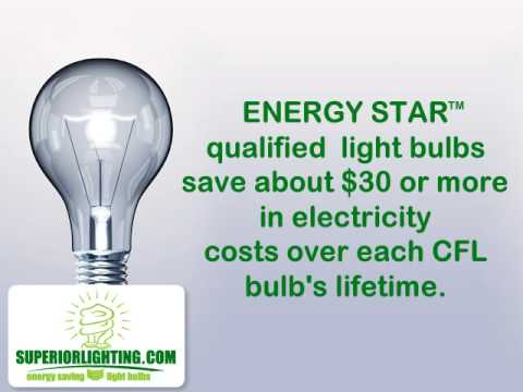 Energy Efficient Light Bulbs CFLs and LEDs by Superior Lighting