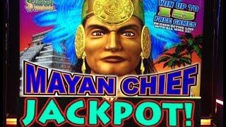 getlinkyoutube.com-**HUGE JACKPOT** 700 SPINS MAYAN CHIEF slot machine Max bet Bonus HANDPAY