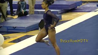 Wow! Latina gymnast with gifted asset