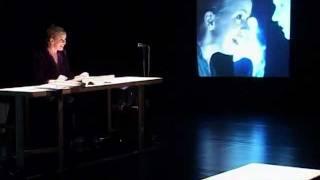 TOURBILLONS de Georges Aperghis, Donatienne MICHEL-DANSAC voix, Réalisation film, Philippe BEZIAT