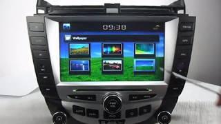 getlinkyoutube.com-Honda Accord DVD player GPS Navigation TV Bluetooth