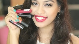 getlinkyoutube.com-Top 5 pink lipsticks for Indian Skin Tones | Debasree Banerjee