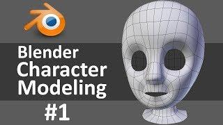 getlinkyoutube.com-Blender Character Modeling 1 of 10