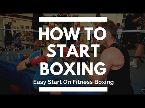 How to start boxing - easy start on fitness boxing training program