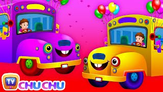 getlinkyoutube.com-Wheels on the Bus Go Round and Round Rhyme - Popular Nursery Rhymes and Songs for Children