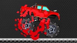 getlinkyoutube.com-Monster Truck | Monster Truck learn Colors | fun videos for children