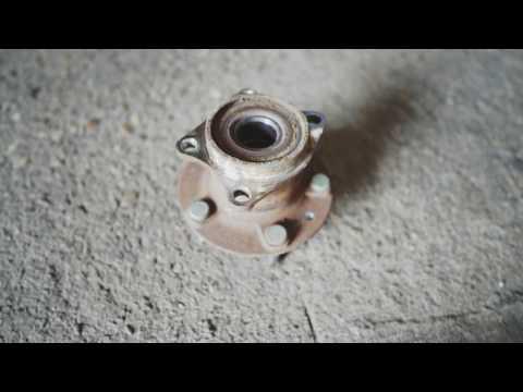 Замена задней ступицы Mazda CX 7