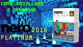 getlinkyoutube.com-TUTORIAL: CRACK NERO 2016 PLATINUM [ITA]
