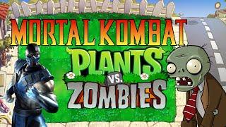 getlinkyoutube.com-Mortal Kombat vs Plants vs Zombies