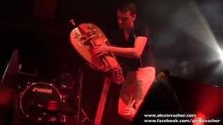 getlinkyoutube.com-Alexis VACHER - Gnawaroque - Hurdy Gurdy - Vielle à roue - Echo Festival de Sailly