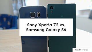 getlinkyoutube.com-Sony Xperia Z5 vs. Samsung Galaxy S6 Porównanie PL