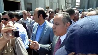 Minister of provision in Damietta port