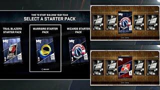 getlinkyoutube.com-NBA 2K16 PS4 MyTEAM - STARTER PACK OPENING + BONUS PACK!!