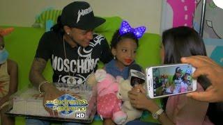 getlinkyoutube.com-Mozart La Para cumple el sueño de una niña con cáncer