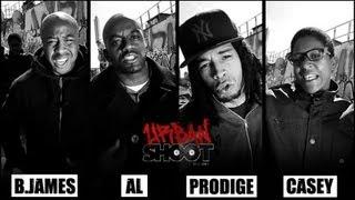 Urban Shoot - Session #18 avec B.James, Prodige, Casey