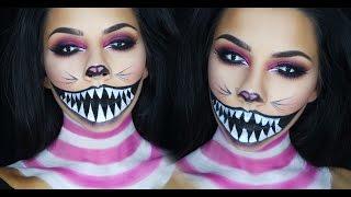 getlinkyoutube.com-Cheshire Cat Halloween Makeup Tutorial | TinaKpromua