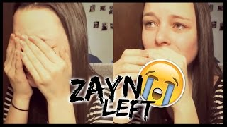 getlinkyoutube.com-REACTION TO ZAYN LEAVING ONE DIRECTION