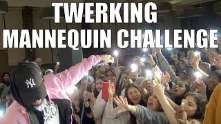 getlinkyoutube.com-TWERKING MANNEQUIN CHALLENGE!! (AT MY SHOW)